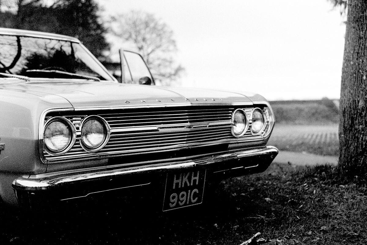 Car Meet on Kodak Tri-X400