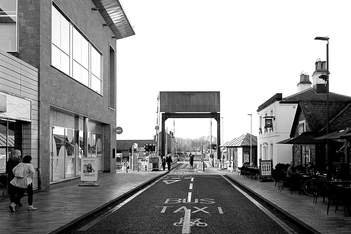 Gloucester Quays onTri-X