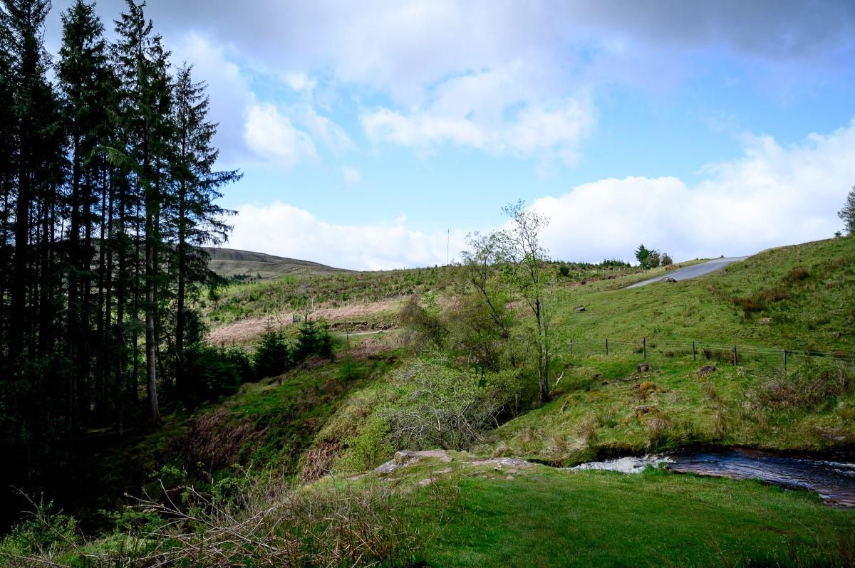 Waterfalls at Blaen YGlyn