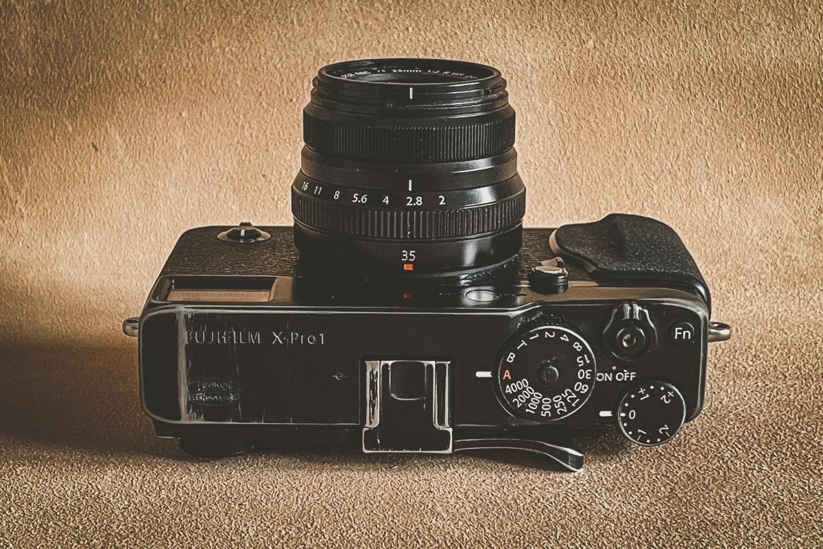 Fujifilm X-Pro1 in2021